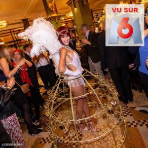 Femme champagne reportage M6 La Coupole