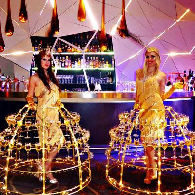Prestation Location de robe a champagne