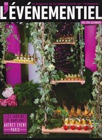 Magazine l'événementiel - Presse La Robe à champagne lancement