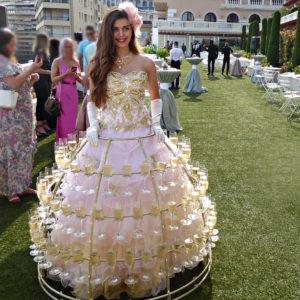 Robe à Champagne Monaco Monte-Carlo