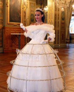 robe à champagne, theme Reine des Neiges