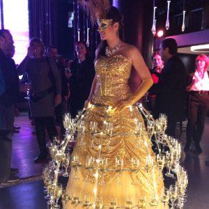 Animation Robe Champagne anniversaire FAC HABITAT