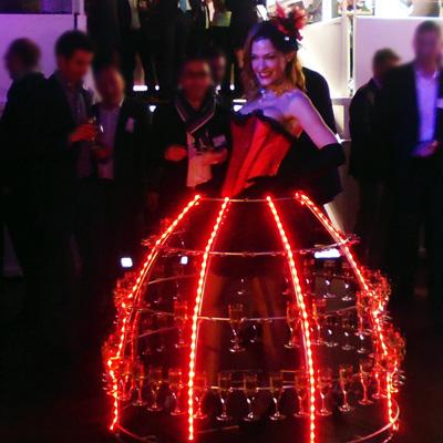 Robe Champagne LED