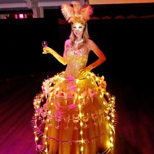 Champagne Dress soirée Global D
