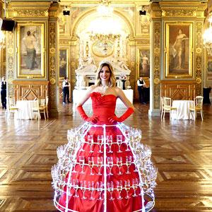 Robe a champagne événementiel le sens de la fête film
